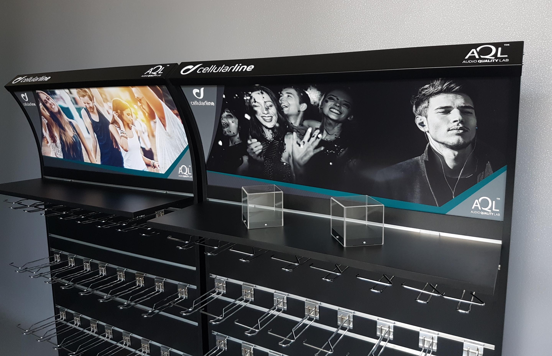 Cellularline – Espositore audio quality